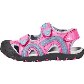 Kamik Seaturtle Sandals Children pink/blue